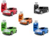 Kufr auto Hummer pro malé cestovatele