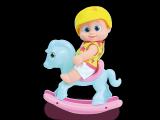 Panenka Giddy na koníkovi