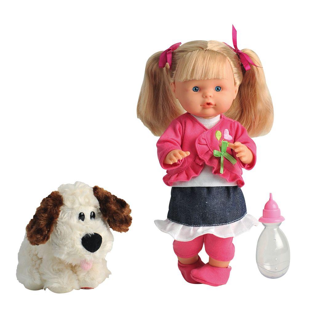 Panenka Nena mluvící 36 cm s pejskem Alltoys