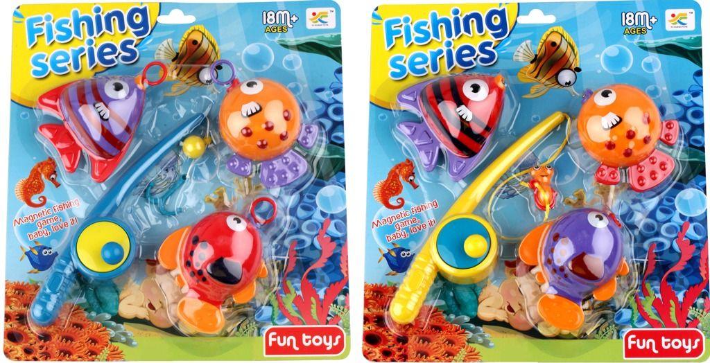 Rybaření 3 ryby baculaté Alltoys