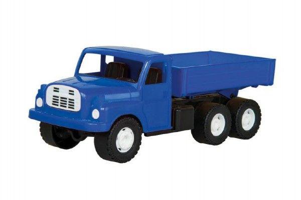 Auto nákladní Tatra 148 valník plast 30cm modrá v krabici 35x18x13cm Dino