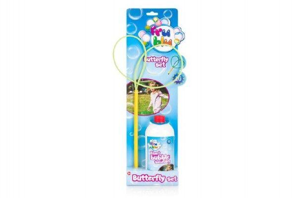 Bublifuk FRU BLU Motýl sada na tvorbu profesionálních bublin + náplň 0,5L TM Toys