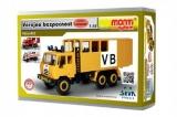 Stavebnice Monti 121 Tatra 815 Veřejná bezpečnost 1:48 v krabici 22x15x6cm