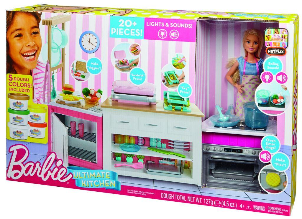 Barbie kuchyně snů Mattel