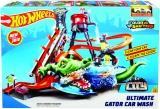 Hot Wheels city ultimátní automyčka s aligátorem