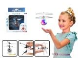 Vrtulníková koule s LED krystal vrtulník pro děti Alltoys