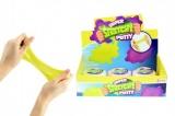 Hmota/modelína inteligentní barevná elastická 7cm v plastové krabičce 12ks v boxu