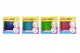 Hmota/modelína inteligentní glitter 8cm asst 3 barvy v plastové krabičce