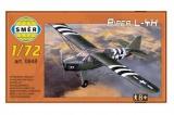 Model Piper L-4H 1:72 14,7x9,3cm v krabici 25x14,5x4,5cm