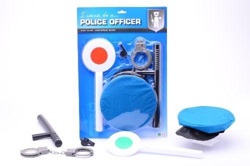 Johntoys Policie hrací set sada policajt hrací sada pro kluky