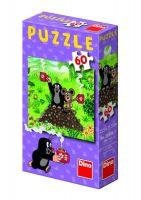 Puzzle 60 dílků Jak Krtek uzdravil myšku