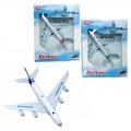Kovový model - Civilní letadlo v boxu