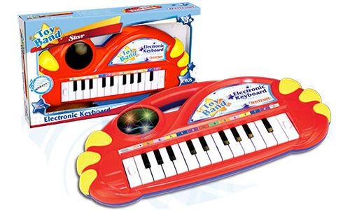 Elektronické klávesy se světelnými efekty Alltoys Bontempi