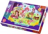 Puzzle Enchantimals  41x27,5cm 160 dílků v krabici 29x19x4cm