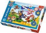 Puzzle Paw Patrol 41x27,5cm 160 dílků v krabici 29x19x4cm