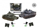 RC tank T34 vs Tiger (sada 2ks) 1:24