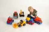 Auto Truxx traktor nakladač plast 35cm 24m+ Lena