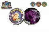 Hmota/modelína 50g inteligentní třpytivá glitter 8cm asst mix barev v plechové krabičce 12ks v boxu