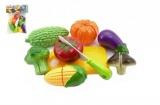 Krájecí ovoce a zelenina plast 9ks v sáčku 19x25cm