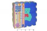 Pěnové puzzle Zvířata 30x30cm 10ks v sáčku Wiky