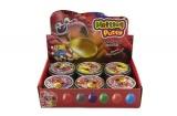 Hmota/modelína 50g inteligentní metalická 8cm asst mix barev v plechové krabičce 12ks v boxu