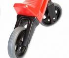 Odrážedlo FUNNY WHEELS NEW SPORT 2v1v červené výška sedadla nastavitelná 27/30cm nosnost 50kg 18m+ Teddies