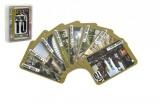 Poznej to, známá místa 1, přísloví 1, společenská hra karty v plastové krabičce 9,5x12,5x2cm