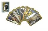 Poznej to, známá místa 2, sousloví 1, společenská hra karty v plastové krabičce 9,5x12,5x2cm