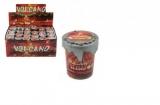Sliz - hmota inteligentní vulkán 4,5cm v plastové krabičce 48ks v boxu