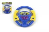 Volant modrý plast 20cm na baterie se zvukem v sáčku CZ design