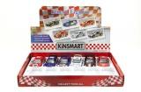 Auto Kinsmart Street Fighter kov 13cm na zpětné natažení asst 6 druhů 12ks v boxu Teddies