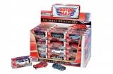Auto Mini kov 7cm asst 12 druhů v krabičce 48ks v boxu Teddies