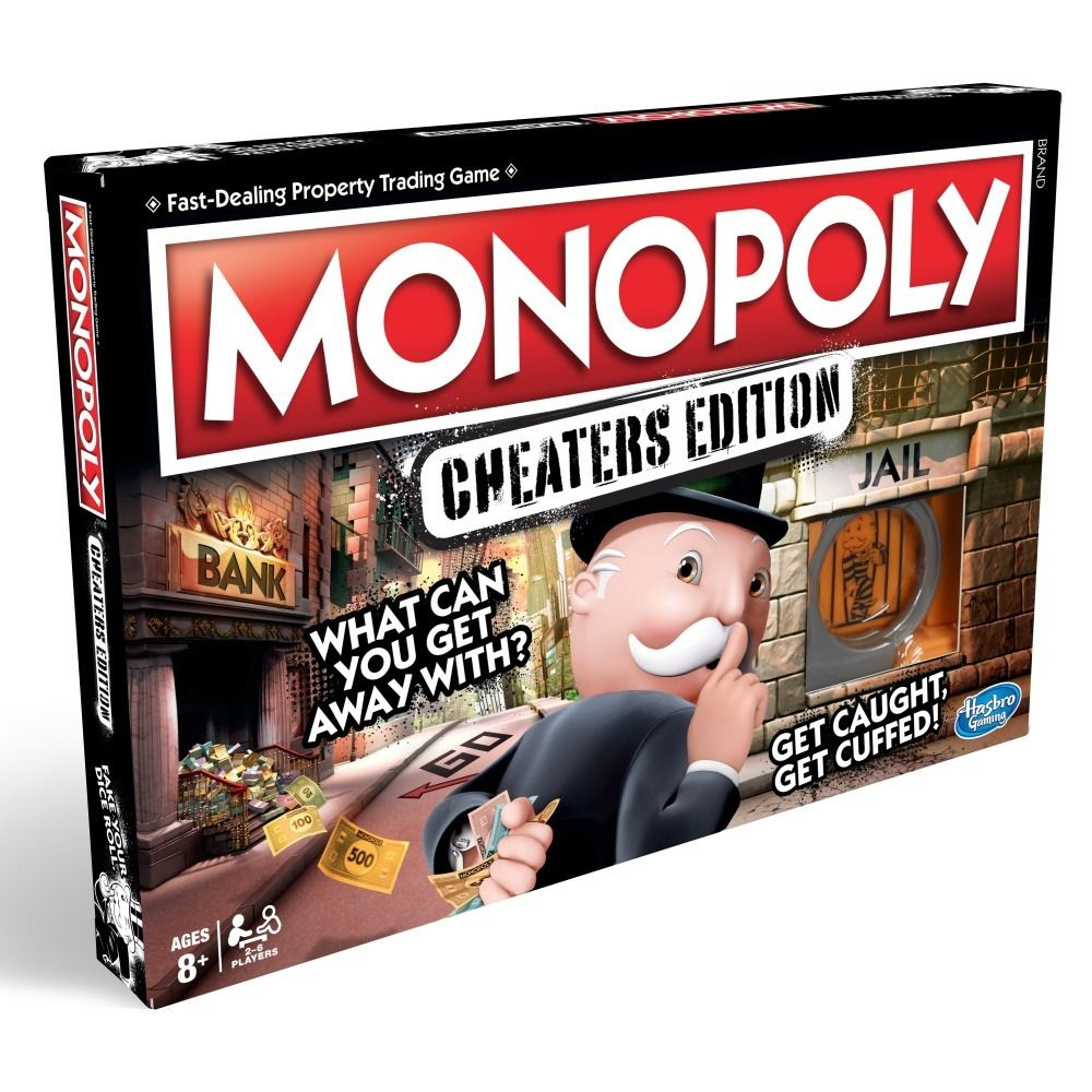 Monopoly Cheaters edition Hasbro