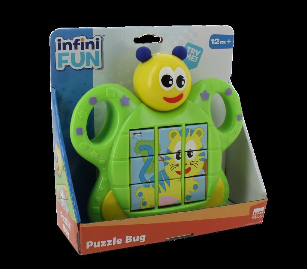 Puzzle Brouček zvuková hračka pro nejmenší Alltoys