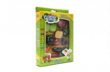 Ovoce a zelenina krájecí s náčiním plast 18ks v krabici 21x30 cm Teddies
