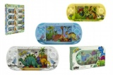 Vodní hra dinosaurus plast 18cm asst 4 barvy v krabičce 16ks v boxu