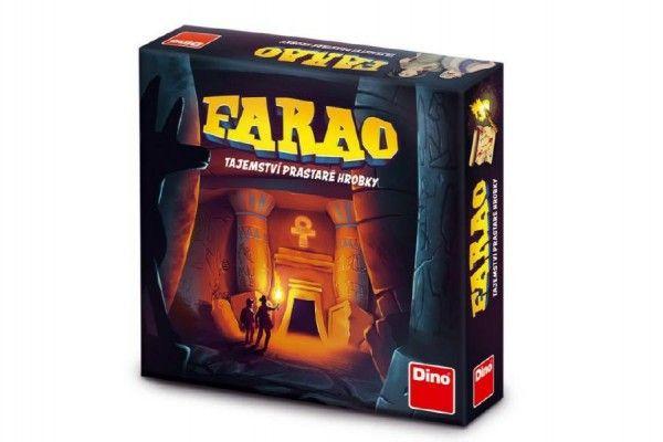 FARAO tajemství prastaré hrobky společenská hra v krabici 30x30x7cm Dino