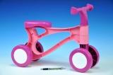 Odrážedlo Rolocykl růžový plast výška sedadla 26cm od 18 měsíců