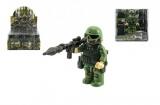 """Figurka """"voják v džungli"""" s doplňky plast 9cm asst mix druhů v krabičce 12x12x4cm 12ks v boxu"""