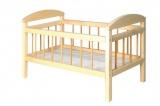 Postýlka dřevo velká 58,5x33x37,5 cm v sáčku