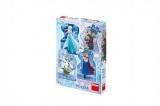 Puzzle Frozen/Ledové království 4x54 dílků 13x19cm v krabici 19x27x4cm