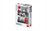 Puzzle Londýn - koláž 1000 dílků 47x66cm v krabici 23x32x7cm