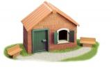 Stavebnice Teifoc Domek Daniel 110ks v krabici 35x29x4,5cm Směr