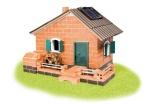 Stavebnice Teifoc Mlýn na solární pohon 380ks v krabici 44x33x11cm Směr