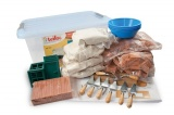 Stavebnice Teifoc School Set v plastovém boxu s úchyty 39x19x29cm Směr