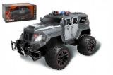 Auto RC policie S.W.A.T. plast 38cm bateriový pack se světlem v krabici 52x27x25cm