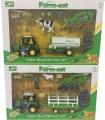 Farmářský set s traktorem 2 druhy Alltoys