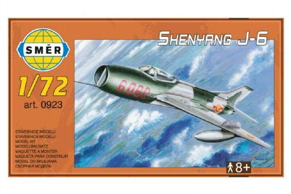 Model Shenyang J-6 12,5x18cm v krabici 25x14x5cm Směr