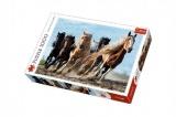Puzzle Cválající koně 1000 dílků 68,3x48cm v krabici 40x27x6cm