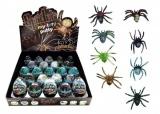 Sliz - hmota vejce pavouk 7cm asst 23ks v boxu Teddies
